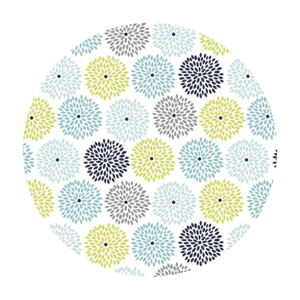Burst in White - Dog Gone It Collection - Camelot Fabrics