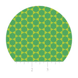 Connect the Dot in Lime Double Gauze - Green With Envy Collection - Camelot Fabrics