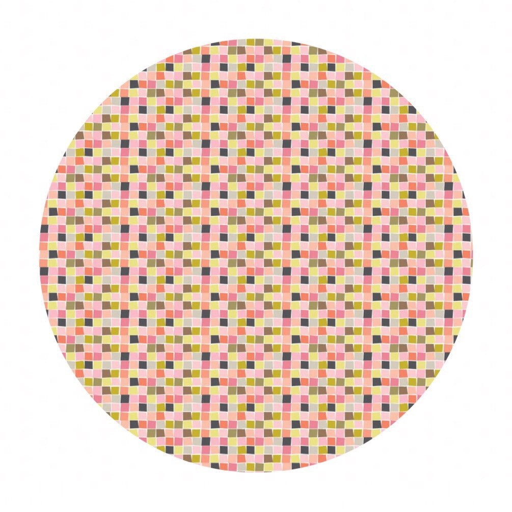 Mosaic Pink - Born Wild Collection - Blend Fabrics