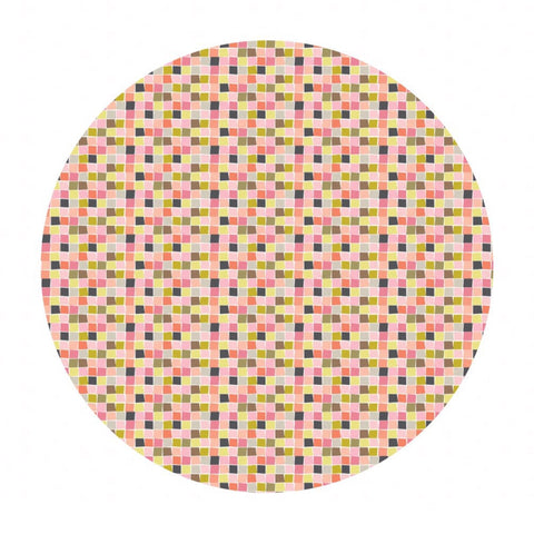 3 meters left! - Mosaic Pink - Born Wild Collection - Blend Fabrics