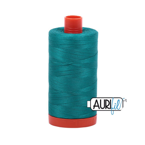 Aurifil Thread - 50wt Large Spool - Jade 4093