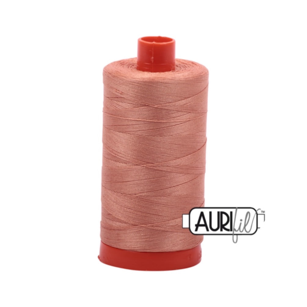 Aurifil Thread - 50wt Large Spool - 2215 Peach