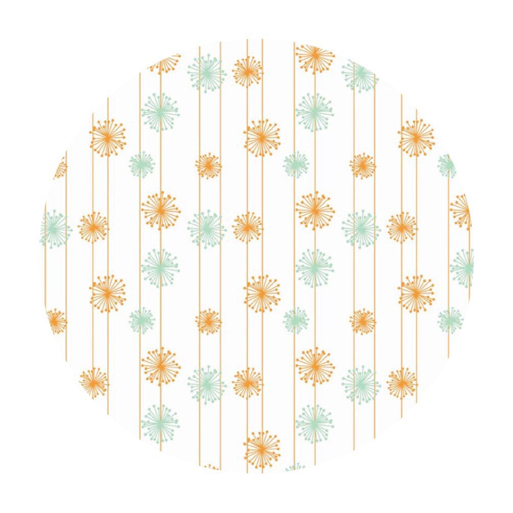 2 meters left! - Dandelion Multi - Good Natured Collection - Riley Blake Designs