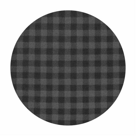 Plaid Flannel in Smoke - Burly Beavers Flannel Collection - Robert Kaufman Fabrics