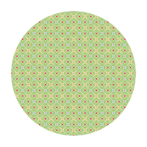 Riley Blake Fabric - Fabric Online Canada - Cozy Christmas - Cozy Wrapping Paper Green