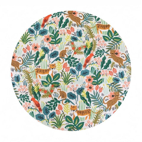 Jungle Natural in Cotton - Menagerie by Rifle Paper Co. - Cotton + Steel Fabrics