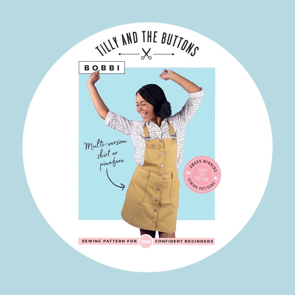 Bobbi Skirt and Pinafore - Tilly and the Buttons 1028