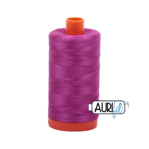 Aurifil Thread - 50wt Large Spool - 2535 Magenta