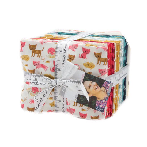 33 Fat Quarter Bundle - Woof Woof Meow Collection - Moda Fabrics