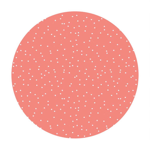 Prairie Dots Coral - Sweet Prairie Collection - Riley Blake Designs