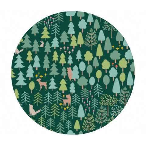 2.5 meters left! - The Forest - Little Red Collection - Dear Stella Fabrics