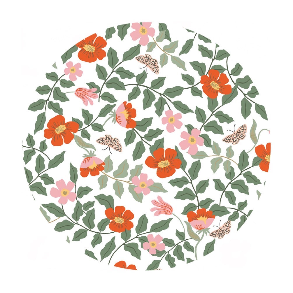 Primrose Rayon in Ivory - Strawberry Fields by Rifle Paper Co. - Cotton + Steel Fabrics