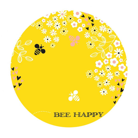 3 panels left! - Bee Happy Panel in Sunshine - Bee Youtiful Collection - Camelot Fabrics