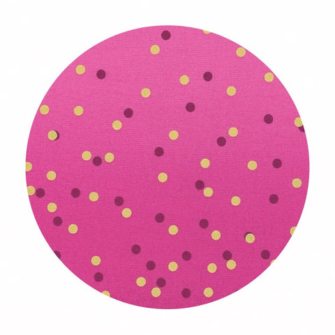.5 meters left! - Magenta - Ombre Confetti Metallic Collection - Moda Fabrics