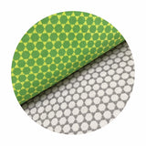 Connect the Dot in Iron Double Gauze - Green With Envy Collection - Camelot Fabrics