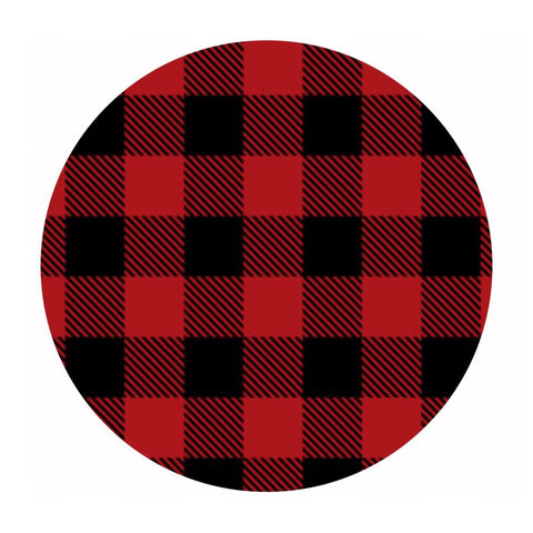 Buffalo Plaid in Red Flannel - Camelot Fabrics