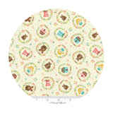 Goldies Story Multi in Cream - Home Sweet Home Collection - Moda Fabrics