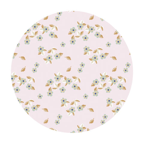 Blossoms in Light Pink - Berry Blossoms Collection - Camelot Fabrics