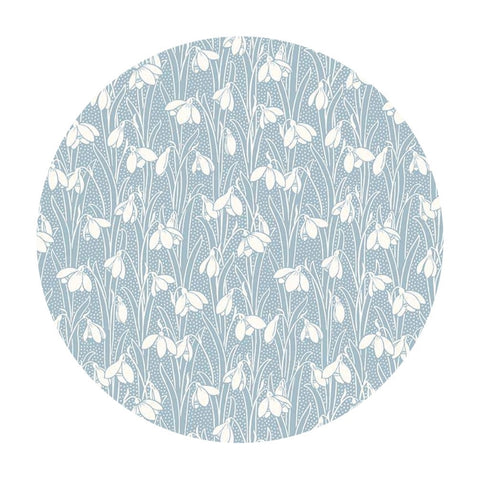Hesketh in Pale Blue - The Hesketh House Collection - Liberty Fabrics