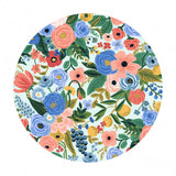 Petite Garden Party in Blue Cotton - Wildwood by Rifle Paper Co. - Cotton + Steel Fabrics
