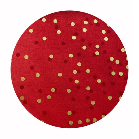 Cherry - Ombre Confetti Metallic Collection - Moda Fabrics