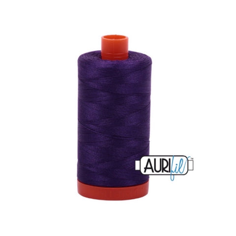 Aurifil Thread - 50wt Large Spool - 2545 Medium Purple