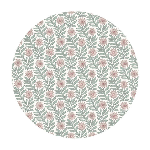 Sweet Marigold in Pink/Light Green - The Hesketh House Collection - Liberty Fabrics