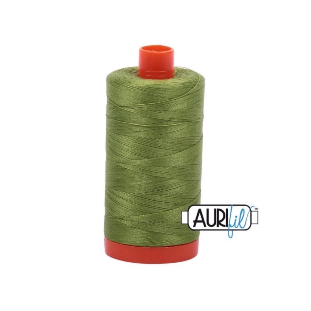 Aurifil Thread - 50wt Large Spool - 2888 Fern Green
