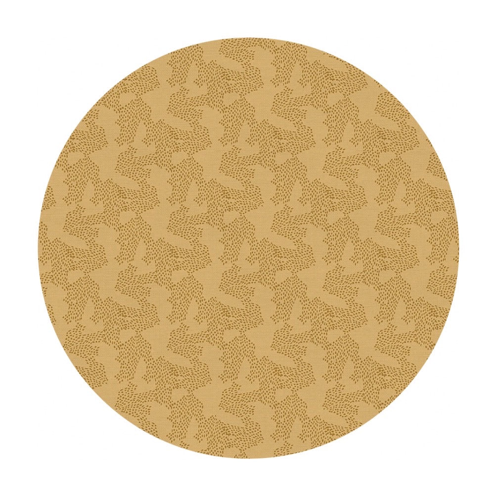 Dots in Gold - Tiger Lily Trail Collection - Paintbrush Studio Fabrics