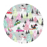 Winter Playground Gray - Cool Yule Collection - Blend Fabrics