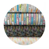 Clip it Gray - Pen & Paper Collection - Blend Fabrics