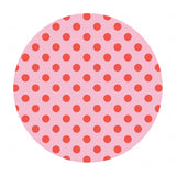 Love Dots in Petunia - Sending Love Collection - Riley Blake Designs