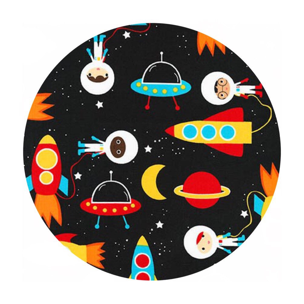 Space Explorers Primary - Space Explorers Collection - Robert Kaufman Fabrics