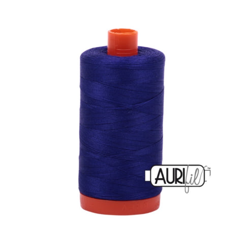 Aurifil Thread - 50wt Large Spool - 1200 Blue Violet