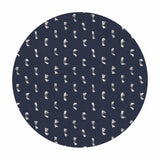 1.5 meters left! - Flicker in Navy - Warp & Weft Wovens Collection - Alexia Abegg - Ruby Star Society