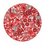 Purrfect Petals in Red - Purrfect Petals Collection - Lewis & Irene Fabrics