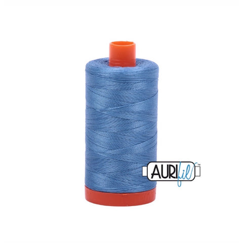 Aurifil Thread - 50wt Large Spool - 2725 Light Wedgewood