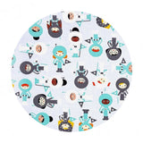 Space Explorers Astronauts in Mint - Space Explorers Collection - Robert Kaufman Fabrics