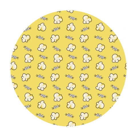 Popcorn in Yellow - Time to Pop Collection - Camelot Fabrics