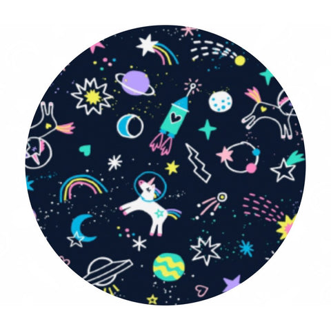 Space Magic in Midnight - Space Magic Collection - Dear Stella Fabrics