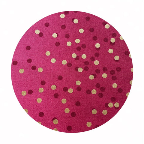 Cranberry - Ombre Confetti Metallic Collection - Moda Fabrics