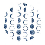 Moons in White - Lantern Light Collection - Dear Stella Fabrics