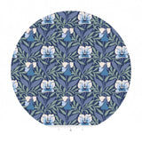 Harriet's Pansy in Blue - The Hesketh House Collection - Liberty Fabrics