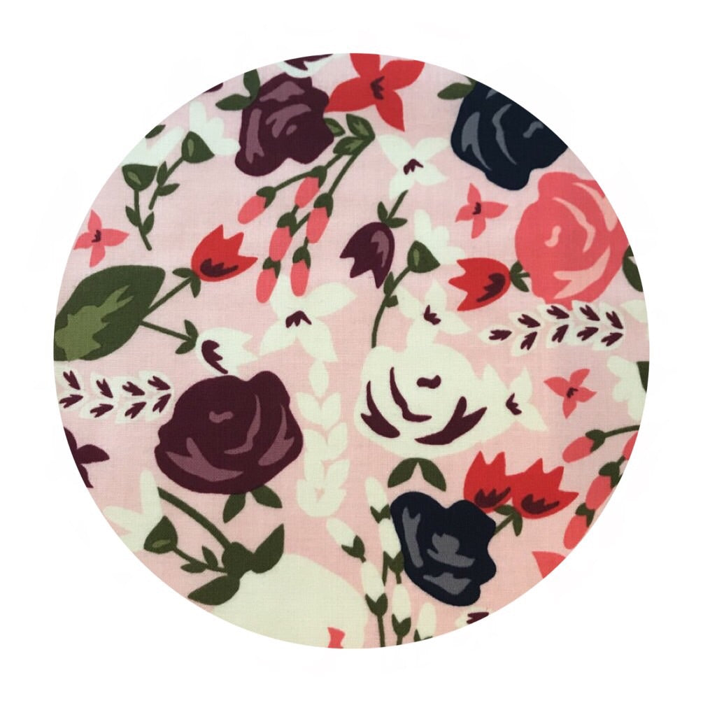 1.5 meters left! - Posy Main Pink - Posy Garden Collection - Riley Blake Designs