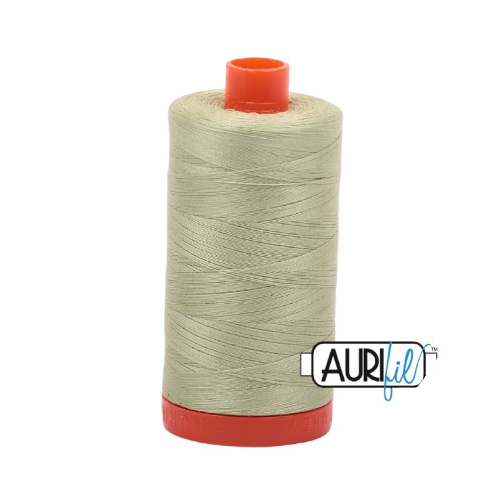 Aurifil Thread - 50wt Large Spool - Light Avocado 2886