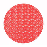 1 meter left! - Blizzard in Coral - Snowlandia Collection - Blend Fabrics