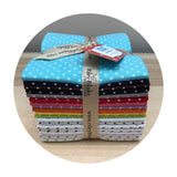 Riley Blake Fabric - Fabric Online Canada - Fat Quarter Bundle - Swiss Dots
