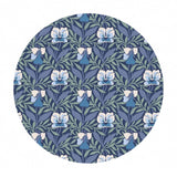 .5 meters left! - Harriet's Pansy in Blue - The Hesketh House Collection - Liberty Fabrics