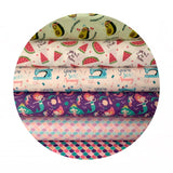 1 meter left! - Mermazing - Very Punny Collection - Camelot Fabrics
