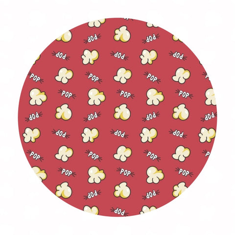 Popcorn in Red - Time to Pop Collection - Camelot Fabrics